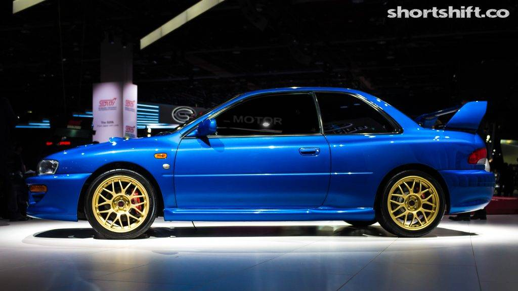 Раритетный купе SUBARU Impreza с индексом 22B STI выставлен на продажу