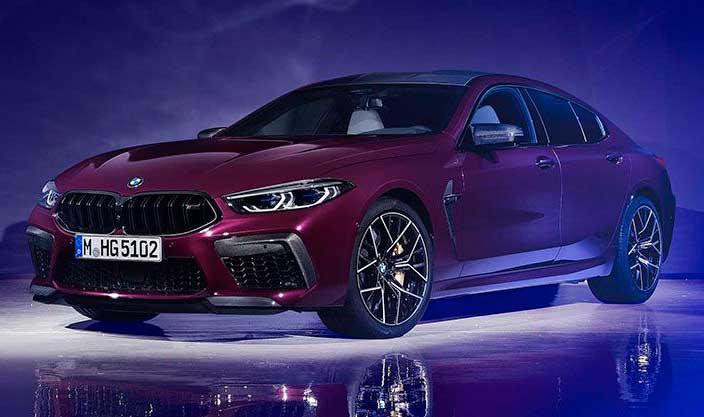 BMW M8 Gran Coupe – новый огнедышащий купе от немецкого бренда