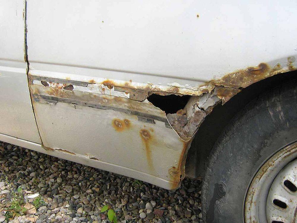 Пошла ржавчина на арках колес – что делать и как предотвратить?