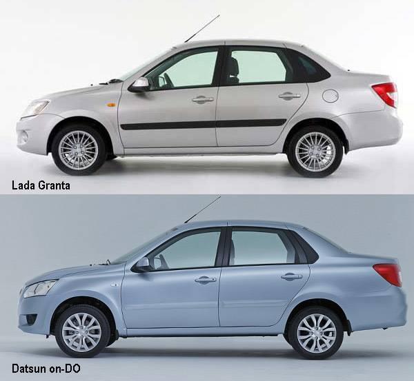Битва слабейших: Datsun on-DO против Lada Granta