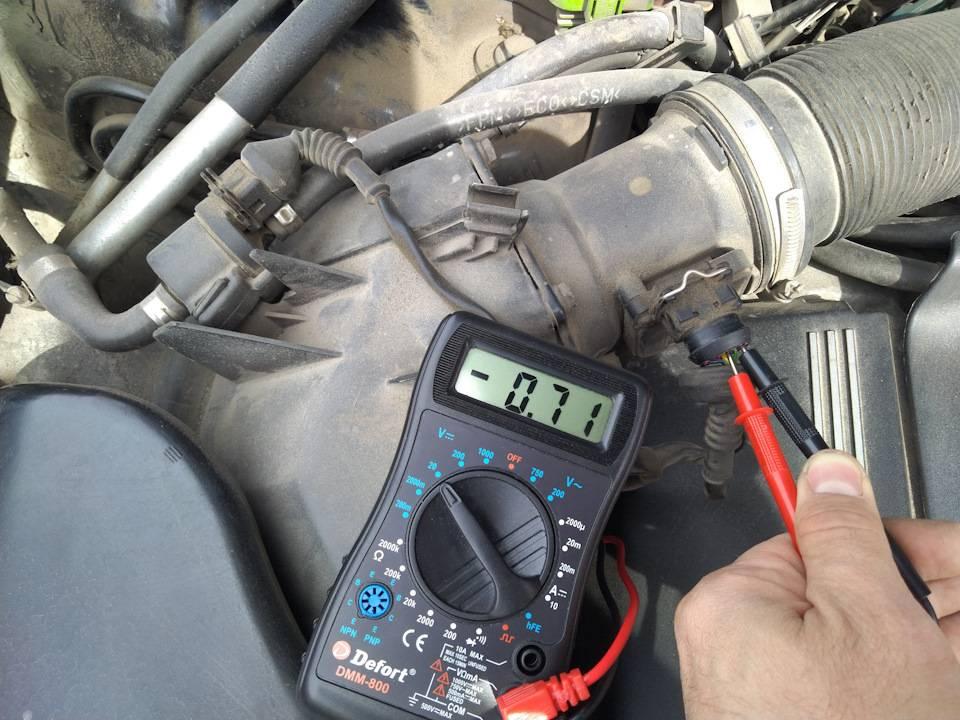 Как проверить датчик массового расхода воздуха -дмрв