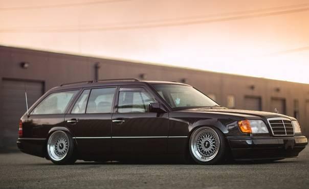 Mercedes e (w124) – я легенда!