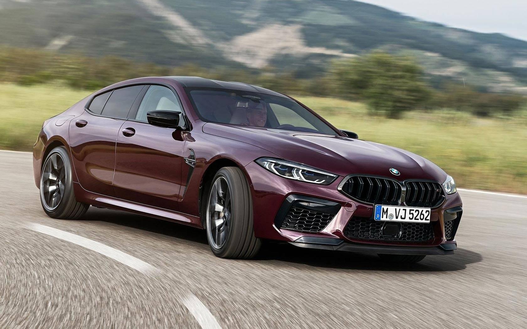 BMW выпустит 400 уникальных М8 Competition Gran Coupe