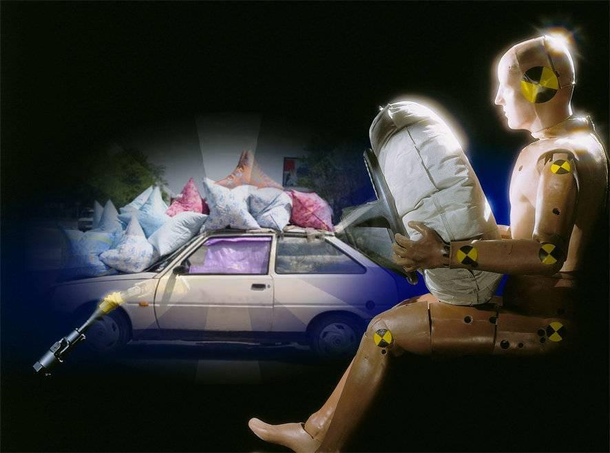 Подушки и ремни безопасности калечат автомобилистов