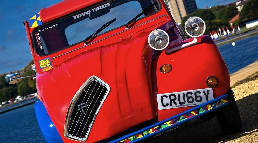 Автомобиль как холст: произведения искусства на колесах – авто новости